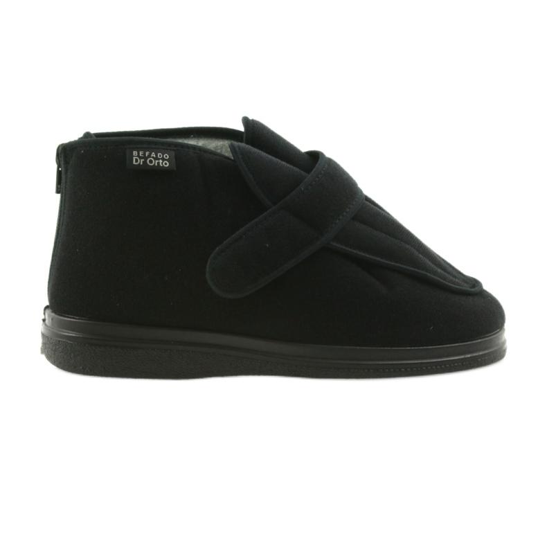 Sapatos masculinos befado pu orto 987M002 preto