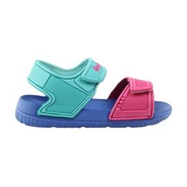 American Club sandálias azuis para criança 6631