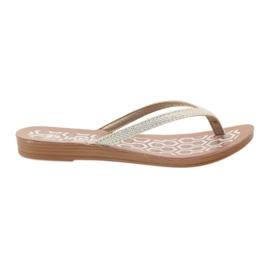 Flip-flops INBLU IR063 prateado