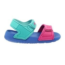 American Club sandálias infantis azuis para a água
