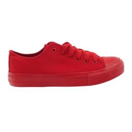 DK Tênis amarrado vermelho