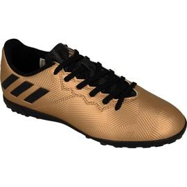 Adidas Messi 16.4 Tf Jr BA9864 ouro