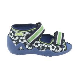 Calçado infantil verde Befado 250P078