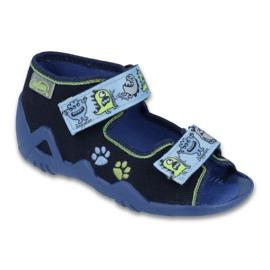 Sapatos infantis verdes Befado 250P076