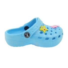 American Club Crocsy flip-flops azul americano