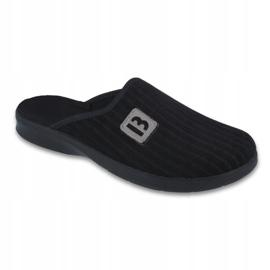 Preto Sapatos masculinos befado pu 548M015