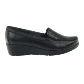 Angello 1720 mocassins sapatos preto