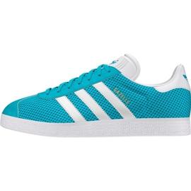 Azul Calçado Adidas Originals Gazelle em BB2761