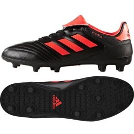 Sapatos de futebol adidas Copa 17.3 Fg M S77144 preto preto, laranja