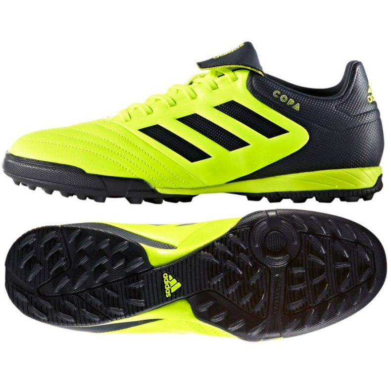Chuteiras de futebol Adidas Copa Tango 17.3 Tf M BB6099 preto verde