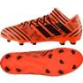 Chuteiras de futebol adidas Nemeziz 17.3 Fg M S80604 laranja laranja