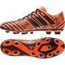 Sapatos de futebol adidas Nemeziz 17.4 FxG M S80610 laranja laranja