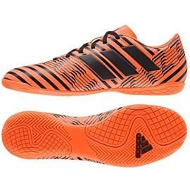 Sapatos Indoor adidas Nemeziz 17.4 Em M laranja