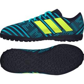 Chuteiras de futebol adidas Nemeziz 17,4 Tf azul