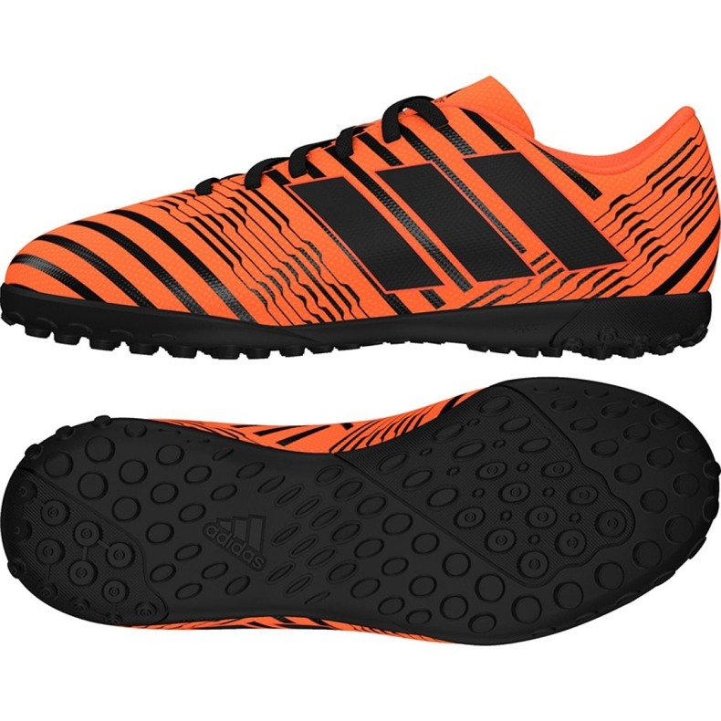 Chuteiras de futebol adidas Nemeziz 17.4 Tf Jr S82471 laranja laranja