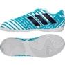 Adidas Nemeziz Messi 17.4 calçado interior azul