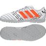 Botas de futebol adidas Nemeziz Messi 17.4 TF Jr S77207 branco