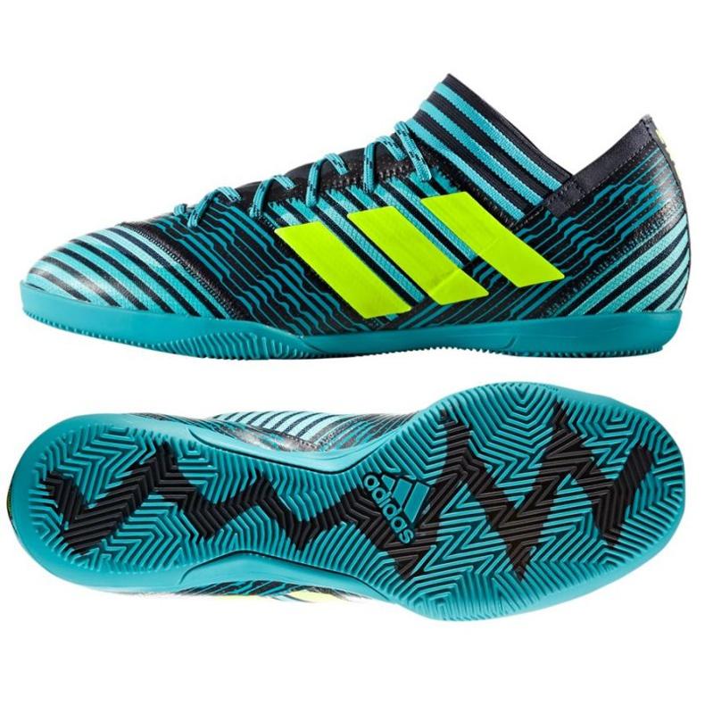 Sapatilhas Adidas Nemeziz Tango para interior 17.3 verde
