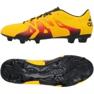 Sapatos de futebol adidas X 15.3 FG / AG M laranja