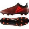 Sapatos de futebol adidas X 17.3 Fg M S82365 laranja preto, laranja
