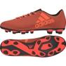 Sapatos de futebol adidas X 17.4 FxG M vermelho