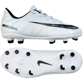 Sapatos de futebol Vortex Nike Mercurial Iii CR7 Fg Jr. 852494-401