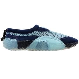 Sapatos de praia de neoprene Aqua-Speed Jr blue