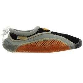Sapatos de praia de neoprene Aqua-Speed Jr. marrom