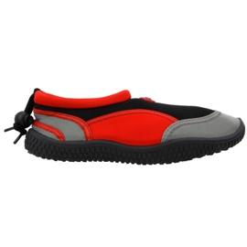 Sapatos de praia de neoprene vermelho Aqua-Speed Jr