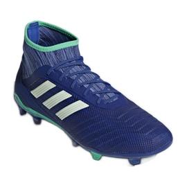 Chuteiras de futebol adidas Predator 18.2 Fg M CP9293 azul azul