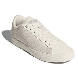 Branco Esporte Adidas Inspirado Cloudfoam Daily Qt Sapatos Limpos Em DB1738