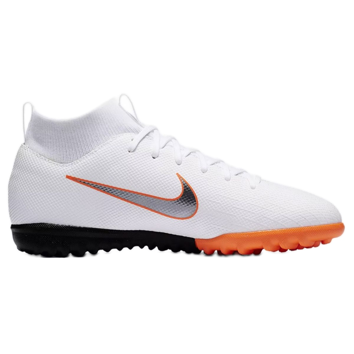 Academia Nike Mercurial SuperflyX 6 Gs Tf Jr AH7344 107 branco branco