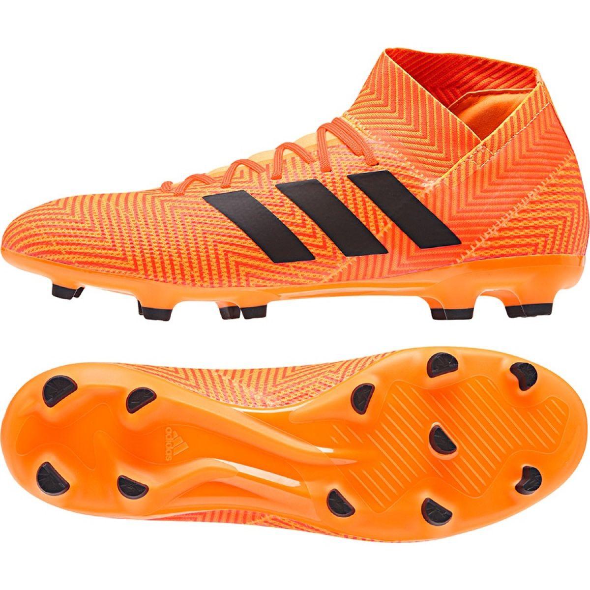 Chuteiras de futebol adidas Nemeziz 18.3 Fg M DA9590 laranja laranja