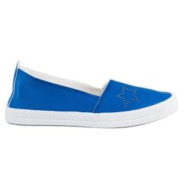 Kylie Tênis Slip-on azul