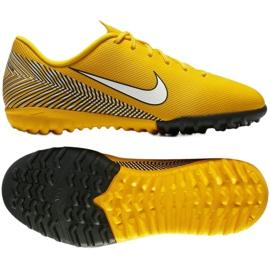 Sapatilhas de futebol Nike Mercurial Vapor 12 Academia Neymar Tf Jr AO9476-710