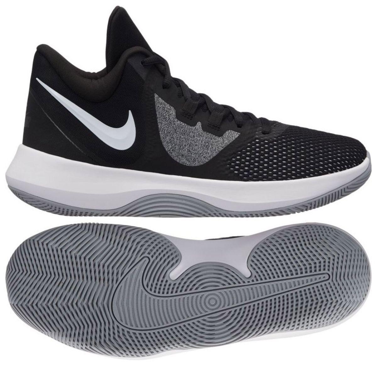 Tênis de basquete Nike Air Precision Ii M AA7069 001 preto preto