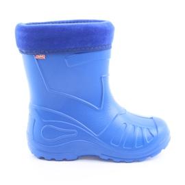 Sapatos infantis Befado galoskie-chabrowy 162P106 azul
