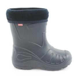 Calçados infantis Befado galosh-garnet 162Y103 azul marinho