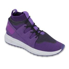 Roxo Sapatos de criança Befado até 23 cm 516Y031