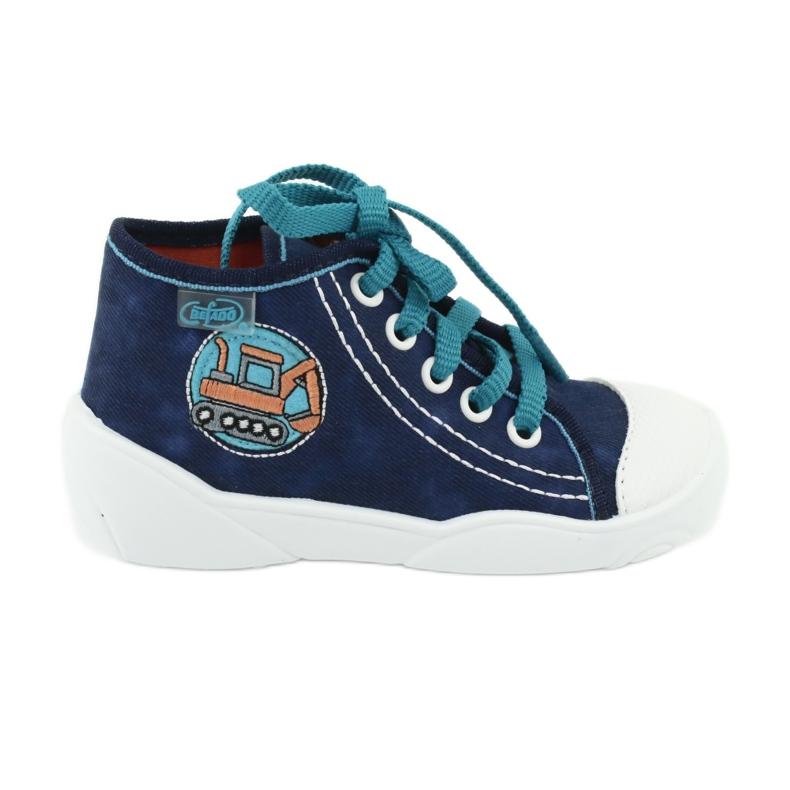 Azul Sapatos infantis Befado 218P054