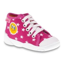 -de-rosa Sapatos infantis de cor befado 218P055