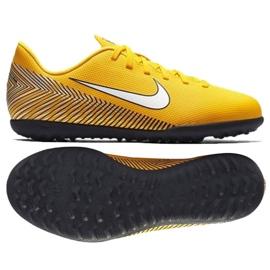 Sapatilhas Nike Mercurial Vapor 12 Club Football Neymar Tf Jr AO9478-710