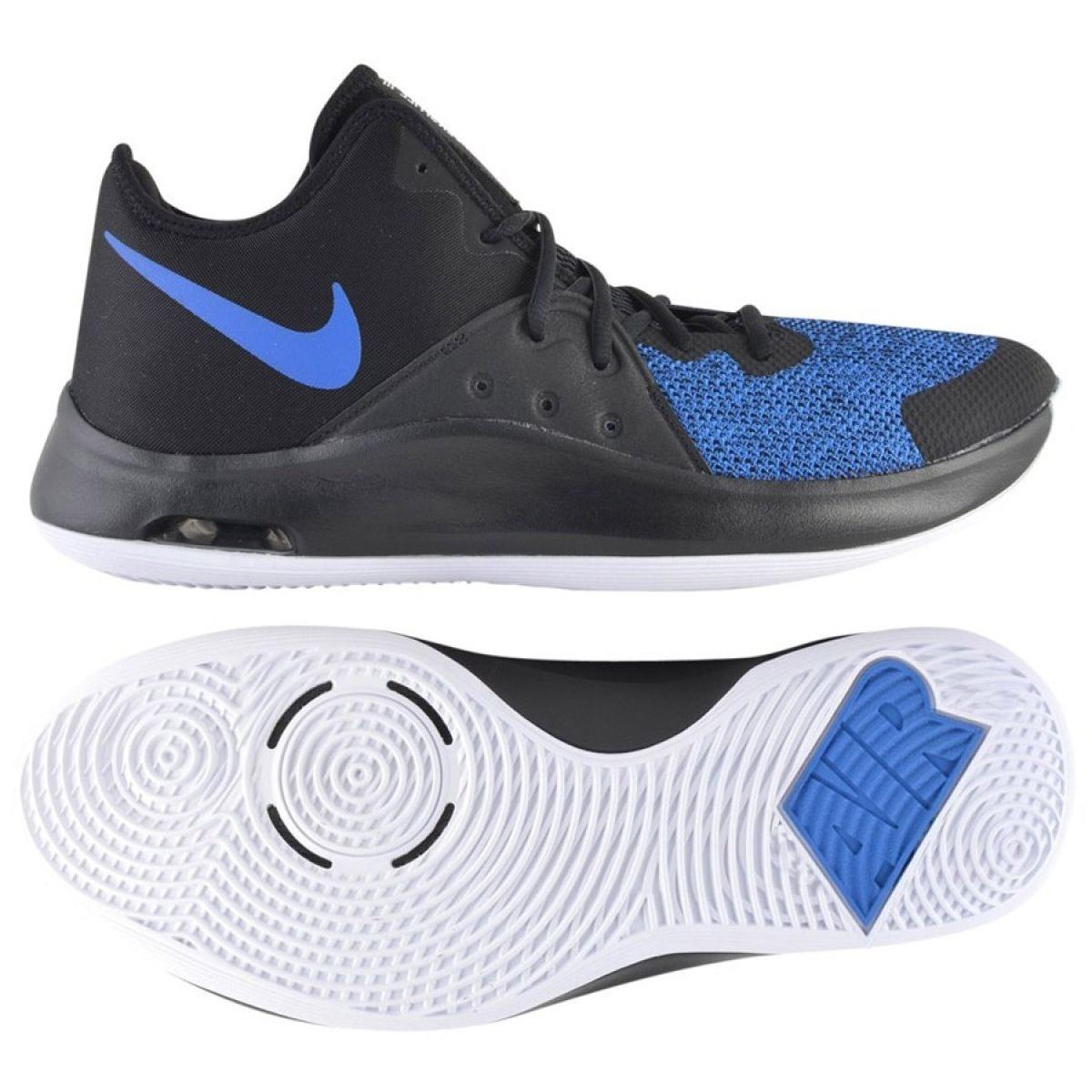 Tênis de basquete Nike Air Versitile Iii M AO4430 004 marinha azul marinho