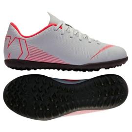 Nike Mercurial VaporX 12 chuteiras de futebol Tf Gs Jr AH7355-060
