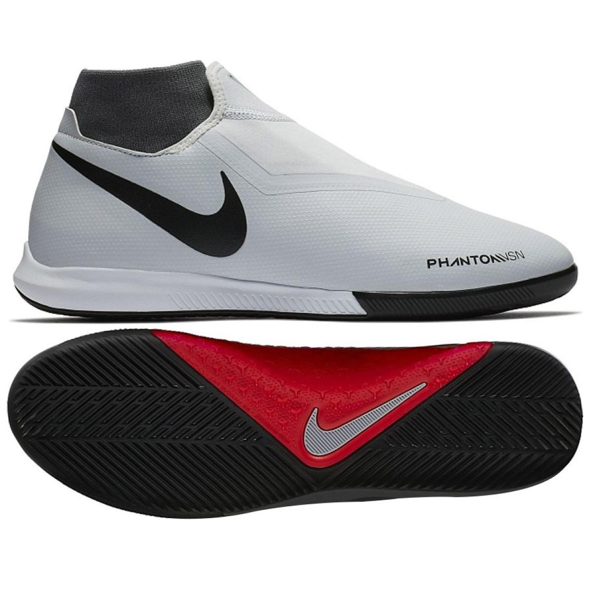 Sapatos de interior Nike Phantom Vsn Academia Df Ic M AO3267 060 branco branco