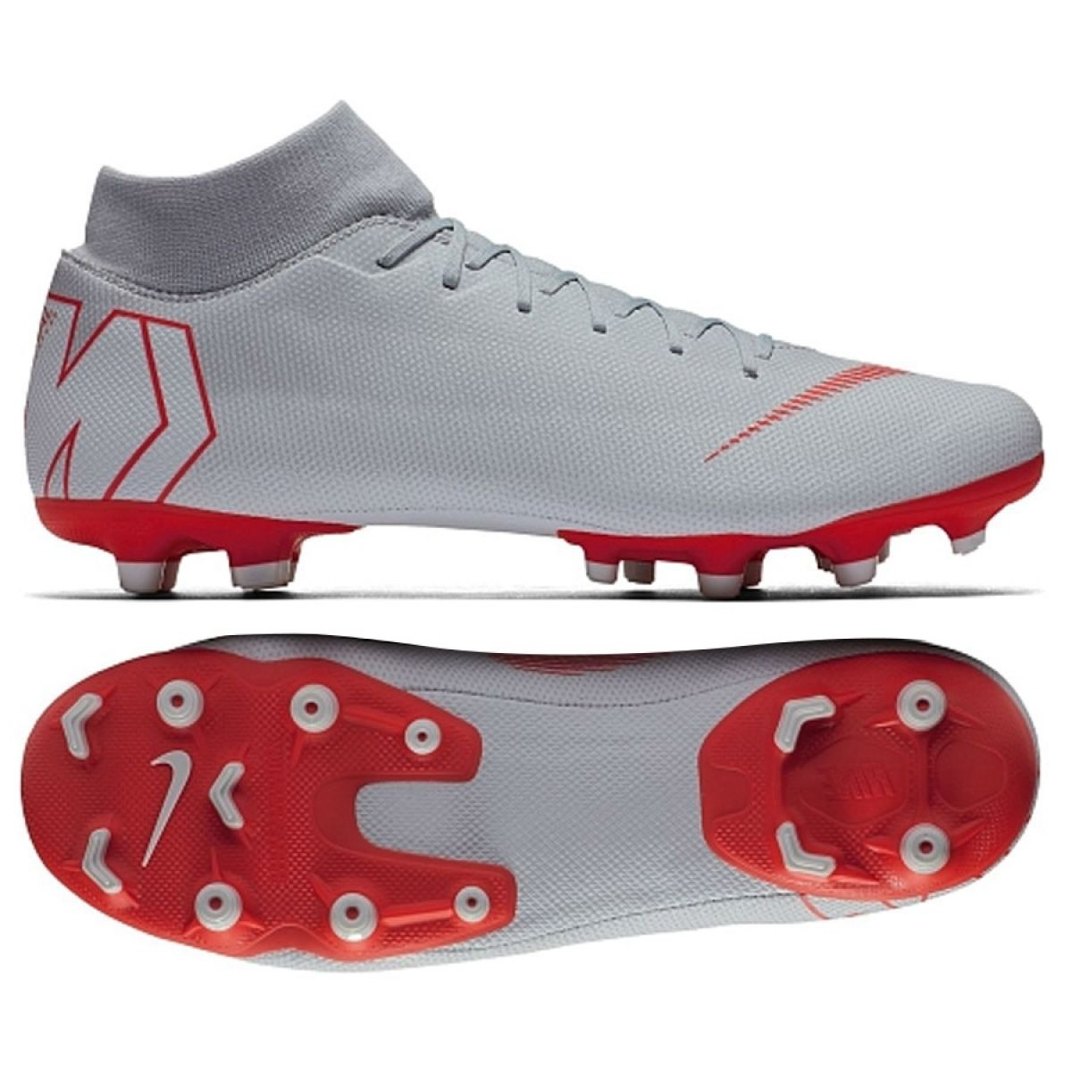 Botas de futebol Nike Mercurial Superfly 6 Academia Mg M AH7362 060 cinza prata prata