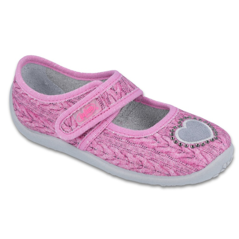 Sapatos infantis Befado 945X325 -de-rosa