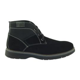 McKey preto Sapatos de tornozelo em camurça 284