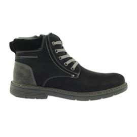 McKey Botas para homens, preto, amarrado 288