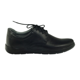 Sapatos masculinos Riko 849 preto